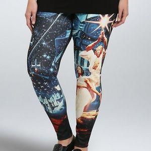Torrid Star Wars poster scuba leggings